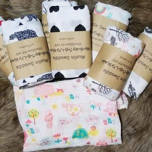 Muslins baby swaddle blankets